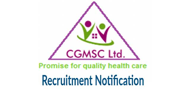 Cgmsc Recruitment